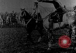 Image of British infantry soldiers firing artillery World War 1 Europe, 1916, second 57 stock footage video 65675052474