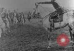 Image of British infantry soldiers firing artillery World War 1 Europe, 1916, second 59 stock footage video 65675052474