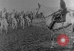Image of British infantry soldiers firing artillery World War 1 Europe, 1916, second 60 stock footage video 65675052474