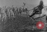 Image of British infantry soldiers firing artillery World War 1 Europe, 1916, second 61 stock footage video 65675052474
