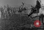 Image of British infantry soldiers firing artillery World War 1 Europe, 1916, second 62 stock footage video 65675052474