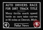 Image of Cliff Woodbury wins AAA Dirt Track Championships Detroit Michigan USA, 1927, second 15 stock footage video 65675052487