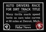 Image of Cliff Woodbury wins AAA Dirt Track Championships Detroit Michigan USA, 1927, second 26 stock footage video 65675052487
