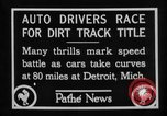 Image of Cliff Woodbury wins AAA Dirt Track Championships Detroit Michigan USA, 1927, second 27 stock footage video 65675052487