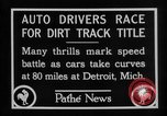 Image of Cliff Woodbury wins AAA Dirt Track Championships Detroit Michigan USA, 1927, second 29 stock footage video 65675052487