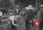 Image of President Calvin Coolidge at Mount Rushmore Black Hills South Dakota USA, 1927, second 17 stock footage video 65675052493