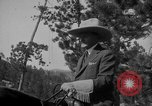 Image of President Calvin Coolidge at Mount Rushmore Black Hills South Dakota USA, 1927, second 37 stock footage video 65675052493