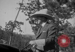 Image of President Calvin Coolidge at Mount Rushmore Black Hills South Dakota USA, 1927, second 38 stock footage video 65675052493