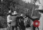 Image of President Calvin Coolidge at Mount Rushmore Black Hills South Dakota USA, 1927, second 54 stock footage video 65675052493