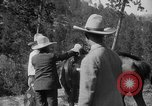 Image of President Calvin Coolidge at Mount Rushmore Black Hills South Dakota USA, 1927, second 55 stock footage video 65675052493