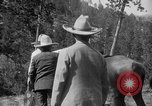 Image of President Calvin Coolidge at Mount Rushmore Black Hills South Dakota USA, 1927, second 56 stock footage video 65675052493