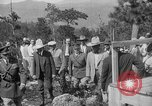 Image of President Calvin Coolidge at Mount Rushmore Black Hills South Dakota USA, 1927, second 59 stock footage video 65675052493