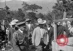 Image of President Calvin Coolidge at Mount Rushmore Black Hills South Dakota USA, 1927, second 61 stock footage video 65675052493