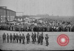 Image of Charles Lindbergh completes 3 month tour in New York Mitchel Field Long Island New York USA, 1927, second 15 stock footage video 65675052495