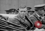 Image of Charles Lindbergh completes 3 month tour in New York Mitchel Field Long Island New York USA, 1927, second 41 stock footage video 65675052495