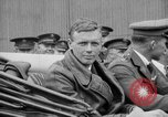 Image of Charles Lindbergh completes 3 month tour in New York Mitchel Field Long Island New York USA, 1927, second 44 stock footage video 65675052495