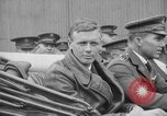 Image of Charles Lindbergh completes 3 month tour in New York Mitchel Field Long Island New York USA, 1927, second 47 stock footage video 65675052495