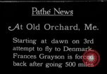 Image of female pilot Frances Grayson Old Orchard Maine USA, 1927, second 1 stock footage video 65675052496