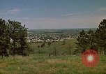 Image of traffic Rapid City South Dakota USA, 1972, second 20 stock footage video 65675052504