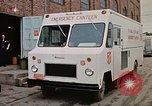 Image of Salvation Army Canteen truck Rapid City South Dakota USA, 1972, second 12 stock footage video 65675052513