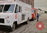 Image of Salvation Army Canteen truck Rapid City South Dakota USA, 1972, second 32 stock footage video 65675052513