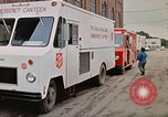 Image of Salvation Army Canteen truck Rapid City South Dakota USA, 1972, second 34 stock footage video 65675052513