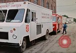 Image of Salvation Army Canteen truck Rapid City South Dakota USA, 1972, second 36 stock footage video 65675052513