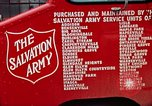 Image of Salvation Army Canteen truck Rapid City South Dakota USA, 1972, second 39 stock footage video 65675052513