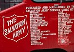 Image of Salvation Army Canteen truck Rapid City South Dakota USA, 1972, second 41 stock footage video 65675052513