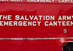 Image of Salvation Army Canteen truck Rapid City South Dakota USA, 1972, second 49 stock footage video 65675052513