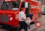 Image of Salvation Army Canteen truck Rapid City South Dakota USA, 1972, second 58 stock footage video 65675052513