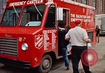 Image of Salvation Army Canteen truck Rapid City South Dakota USA, 1972, second 59 stock footage video 65675052513
