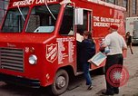 Image of Salvation Army Canteen truck Rapid City South Dakota USA, 1972, second 61 stock footage video 65675052513