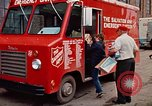 Image of Salvation Army Canteen truck Rapid City South Dakota USA, 1972, second 62 stock footage video 65675052513