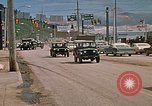 Image of convoy of National Guard trucks Rapid City South Dakota USA, 1972, second 11 stock footage video 65675052523