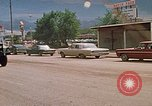 Image of convoy of National Guard trucks Rapid City South Dakota USA, 1972, second 17 stock footage video 65675052523