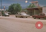 Image of convoy of National Guard trucks Rapid City South Dakota USA, 1972, second 20 stock footage video 65675052523