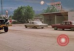 Image of convoy of National Guard trucks Rapid City South Dakota USA, 1972, second 21 stock footage video 65675052523