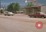 Image of convoy of National Guard trucks Rapid City South Dakota USA, 1972, second 25 stock footage video 65675052523