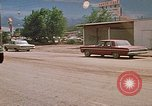 Image of convoy of National Guard trucks Rapid City South Dakota USA, 1972, second 26 stock footage video 65675052523