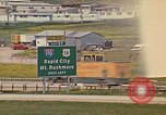 Image of mobile homes Rapid City South Dakota USA, 1972, second 1 stock footage video 65675052544