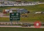 Image of mobile homes Rapid City South Dakota USA, 1972, second 8 stock footage video 65675052544