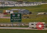 Image of mobile homes Rapid City South Dakota USA, 1972, second 11 stock footage video 65675052544