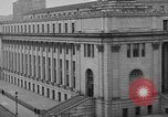 Image of James Farley Post Office building New York City USA, 1918, second 34 stock footage video 65675052546