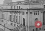 Image of James Farley Post Office building New York City USA, 1918, second 35 stock footage video 65675052546