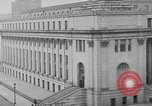 Image of James Farley Post Office building New York City USA, 1918, second 36 stock footage video 65675052546
