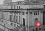 Image of James Farley Post Office building New York City USA, 1918, second 38 stock footage video 65675052546