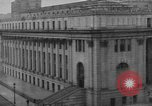 Image of James Farley Post Office building New York City USA, 1918, second 39 stock footage video 65675052546