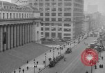 Image of James Farley Post Office building New York City USA, 1918, second 54 stock footage video 65675052546