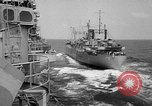 Image of ships of Seventh Fleet China Sea, 1955, second 10 stock footage video 65675052563